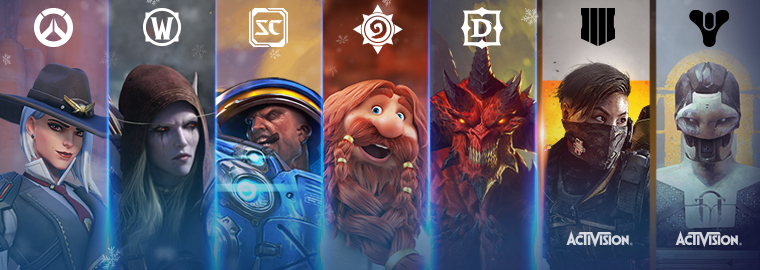 Началась праздничная распродажа игр для PC на Battle.net