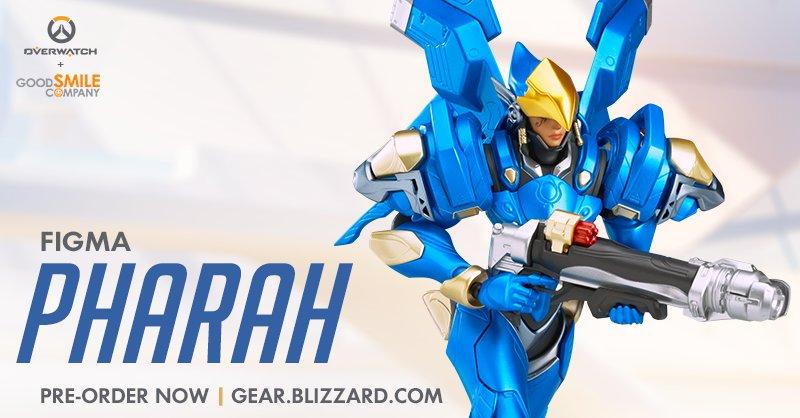 Мастерская Blizzard: фигурка Фарры из серии Figma Overwatch