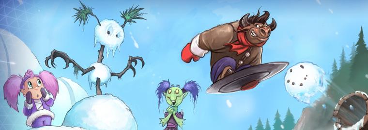 Heroes of the Storm: потасовка недели — «Потасовка со снежками»