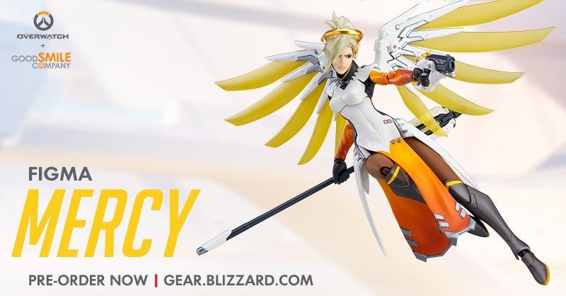 Мастерская Blizzard: фигурка Ангела из серии Figma Overwatch