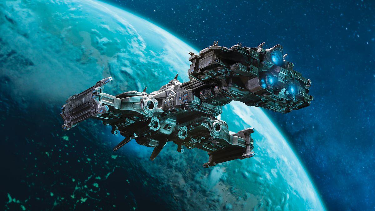 Мастерская Blizzard: модель терранского Крейсера
