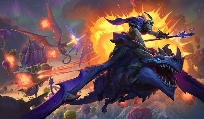 Hearthstone: состоялся анонс дополнения «Натиск драконов»