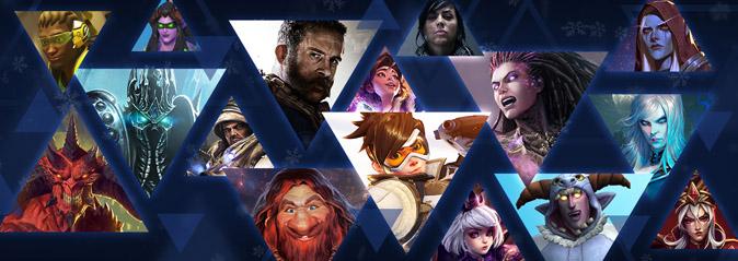 Blizzard: новогодняя распродажа