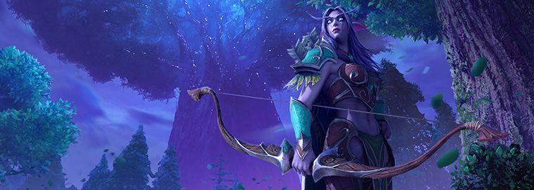 WarCraft III Reforged: обновление ночных эльфов