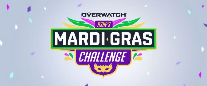 Overwatch: в игре началось испытание «Ashe's Mardi Gras»
