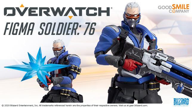 Мастерская Blizzard: фигурка Солдата-76 из серии Figma Overwatch