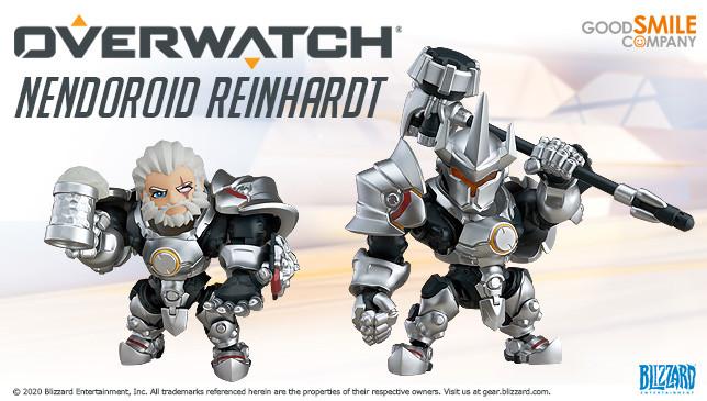 Мастерская Blizzard: фигурка Райнхардта из серии Nendoroid Overwatch