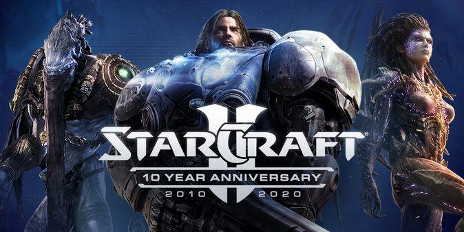 StarCraft II: началось празднование 10-й годовщины игры