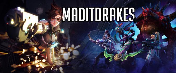 Maditdrakes Blizzard Heroes