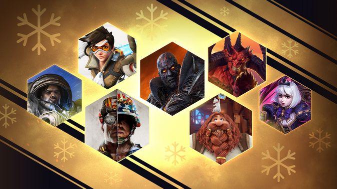 Blizzard: новогодняя распродажа и праздничные акции в играх