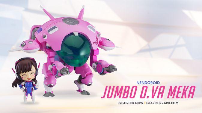 Мастерская Blizzard: фигурка Jumbo MEKA из серии Nendoroid Overwatch