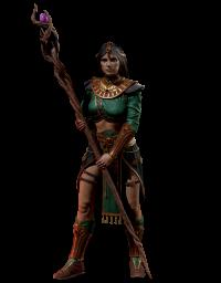 Волшебница Diablo 2 Resurrected