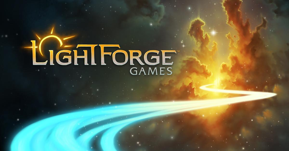 Lightforge Games логотип